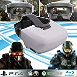 Casque vidéo gamer HD type oculus Rift pour Xbox one, PS4, PC, Blu-ray, PS3, Xbox...