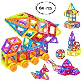 Magicwand 86 Pcs Magical Magnetic Construction, Learning & Educational Building Blocks For Kids