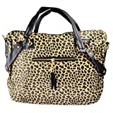 Rucksackhandtaschen, iTECHOR Mode Sequined Leopard Troddel-Handtaschen-Schulter-Beutel Crossbody Tasche