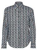 Prada Herren Ucn1471phkf0124 Multicolour Baumwolle Hemd