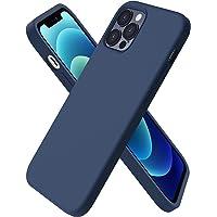 ORNARTO Custodia Compatibile con iPhone 12 Cover Sottile 6,1,Compatibile con iPhone 12 PRO Cover Silicone Liquido…