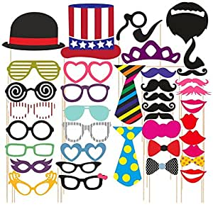 SYGA Party Props Props Craft Party Item (Set of 40)