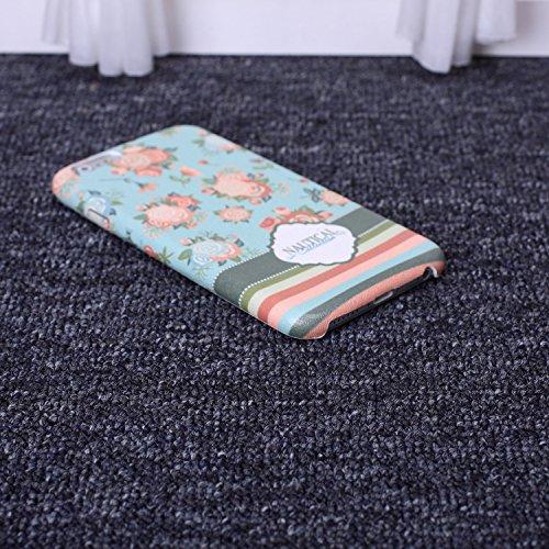 ekinhui Schutzhülle Kleine frische Blumen Orangen Zitronen Früchte Colorful Seide Design Ultra Slim flexiblem PU Soft Schutzhülle für iPhone SE 5S 66S Plus, Gel, 4, IPhone 6S 6 6