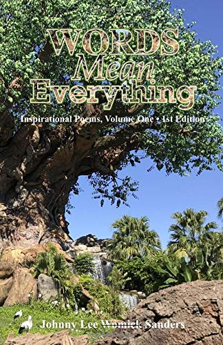 WORDS Mean Everything!: Inspirational Poems, Volume One • 1st Edition