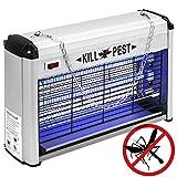 Matamoscas eléctrico Lámpara mata insectos voladores y moscas 16 W
