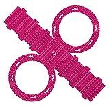 folia 9423/5 Laternenrohlinge aus Wellpappe, 5 Stück, rosa