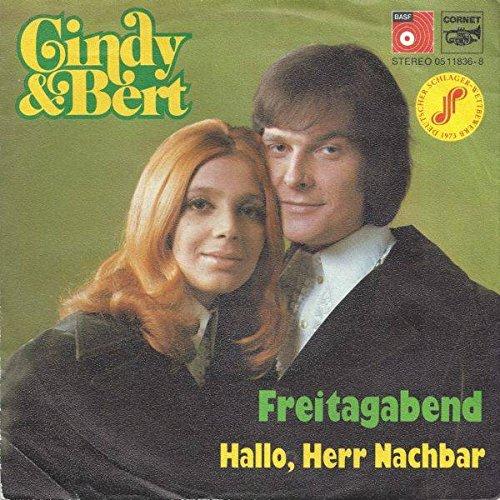 Cindy & Bert - Freitagabend / Hallo, Herr Nachbar - BASF - 05 11836-8, Cornet - 05 11836-8