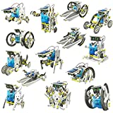 #5: 14 in 1 Educational Solar Robot Kit toys for kids Fun Help for Learning By The Viyu Box
