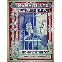 Now Watch The Professor, Riley Chamberlin & William Bowman, 1912 - Foto-Reimpresión película Posters 24x32 pulgadas - sin marco