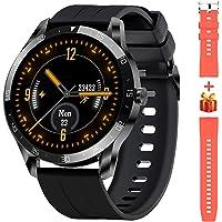 Blackview X1 Smartwatch Herren, Smart Armbanduhr Herren Fitness Tracker Smart Watch Rund 5ATM Wasserdicht Fitnessuhr…