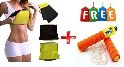 FAMEWORLD Best Quality Unisex Body Shaper for Women   Men Weight Loss Tummy - Body Shaper Belt Slimming Belt Waist Fitness Belt 3 mm XL Size 36,38,40,42, of Stomach Size Consider