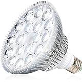 MILYN Lampe De Croissance, 54 W Ampoule pour Plantes Blanche Spectre Complet Eclairag Ampoul LED E27 Lampe De Plante Parfait
