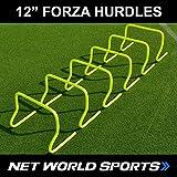 Fußball Hürden, 30 cm, 6 Stück [Net World Sports]