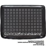 AME Prime - Auto-Gummiwanne Kofferraum-Schutzmatte für den Laderaum mit Schmutzrand 231151KW