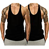 THE BLAZZE Men's Stringer Y Back Bodybuilding Gym Tank Tops