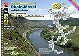 TourenAtlas Wasserwandern / TA3 Rhein-Mosel: Saar, Mosel, Rhein ab Mainz und Nebenflüsse