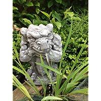 Brunnen Figur Wasserspeier Gargoyle Steinfiguren Fantasiefigur SteingussBrunnen Figur Wasserspeier Gargoyle Steinfiguren Fantasiefigur Steinguss