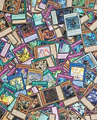 Yu-Gi-Oh! Lot de 100 Cartes Françaises sans double + 2 Cartes Brillantes Cadeau !
