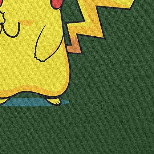 TEXLAB - Pika Trainer - Herren T-Shirt Flaschengrün