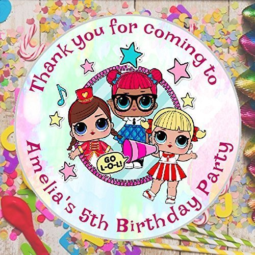 Pdf Gratuit 24 Personalised Lol Surprise Dolls Birthday Party Bag