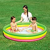 #6: Bestway 60'' Inches Inflatable Summer Set Pool 3 Ring Pool