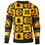 Pittsburgh Steelers NFL 2016 Patches Ugly Crewneck Sweater