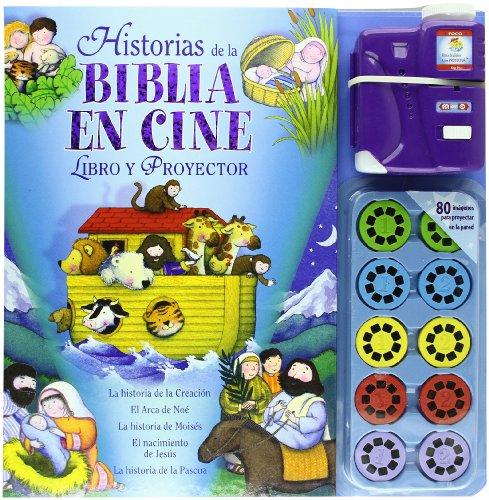 Historias de la Biblia en cine: Libro y proyector (La Biblia y los niños)