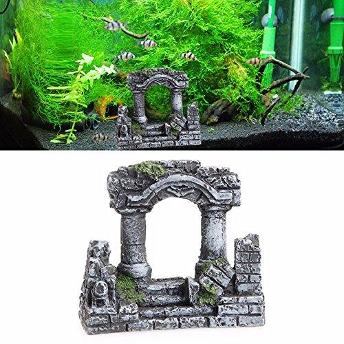 Antiken römischen Ruinen Spalten Ruiniert Harz Ornament (Römisch-dekor)