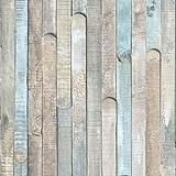 Klebefolie Möbelfolie Rio Ocean grau blaues Holz d-c-fix 67,5 x 200