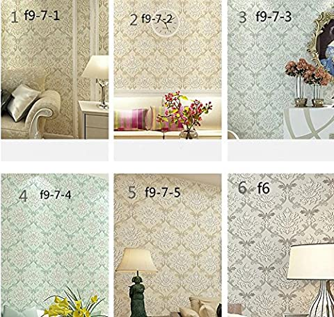 Wall papers Non-woven simplicity TV wall 3D wallpaper warm bedroom living room wallpaper , f9-7-2 (Carta Da Parati Nero Bianco Toile Wallpaper)