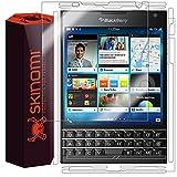 Skinomi TechSkin - Schutzfolie für BlackBerry Passport - Vorder- und Rückseite