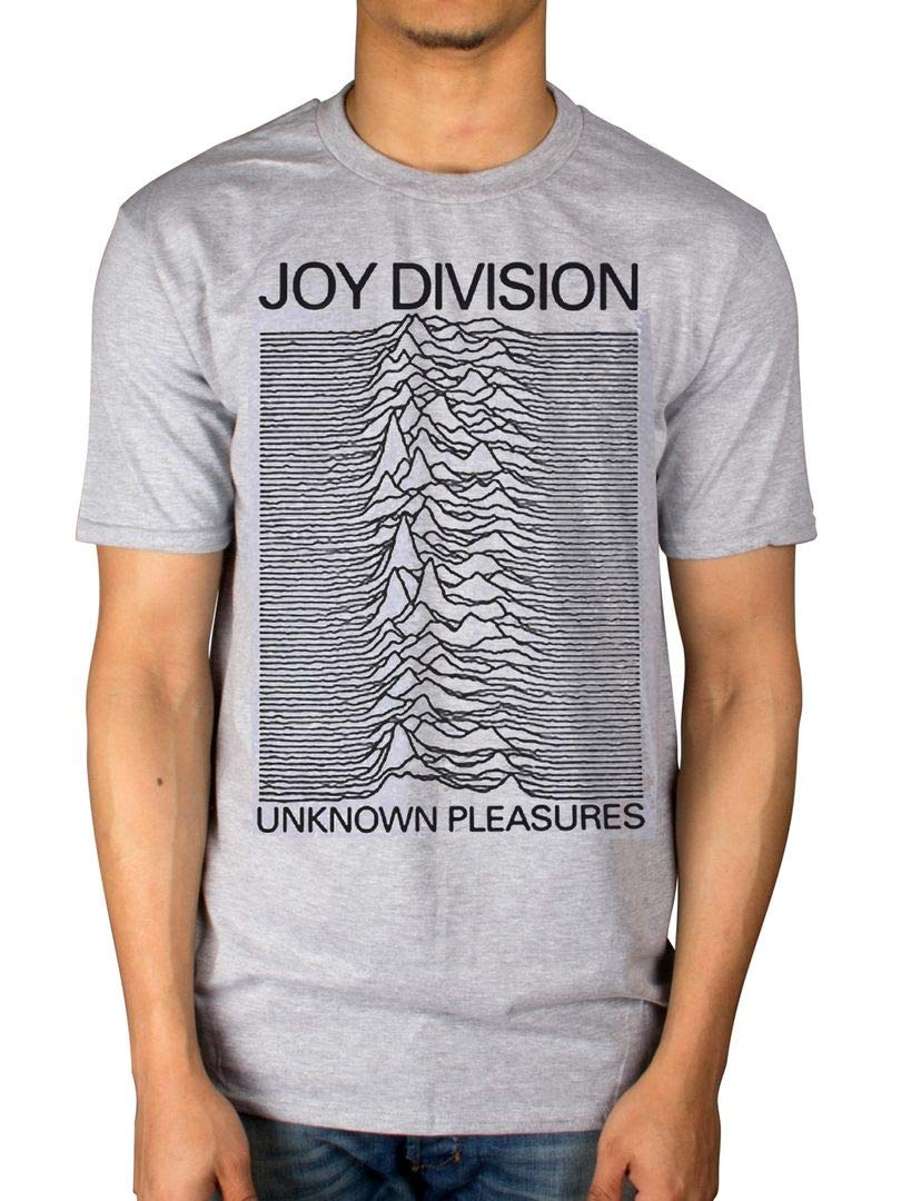 Official Joy Division Unknown Pleasures T-Shirt