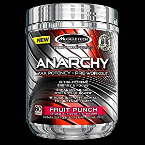 Muscletech Anarchy - 60 Servings Fruit Punch