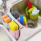 #5: Skyfish Silicon Sponge Holder with Drain Holes for Kitchen Sink