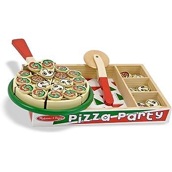 Melissa & Doug Pizza Party Set in Legno