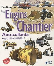 Engins de Chantier (Autocollants Je Découvre)