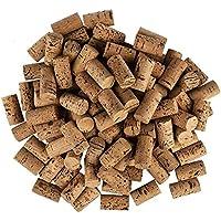 Lot de 100 bouchons à vin en forme de cœur pour les loisirs créatifs - En liège naturel - 4,5 cm de long - Diamètre 2,4…