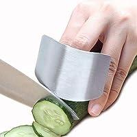 Tagliare la protezione per le dita Protezione delle dita in acciaio inossidabile Proteggere le affettature a mano Tagliare le verdure Evitare di ferire Proteggi mani Strumento per la protezione delle
