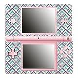Disagu SF-661_926 Design Folie für Nintendo DS Lite Motiv Dreieck_Stapel_türkis_Violet klar