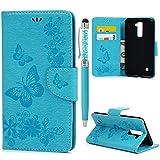 LG Stylus 2 Flip Hülle LG Stylus 2 LS775 Wallet Case