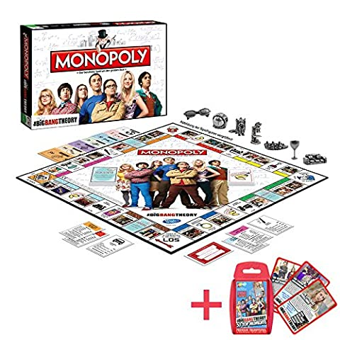 Winning Moves - Monopoly: The Big Bang Theory + Top