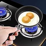 Bärbar mini stekpanna, köksspis stekpanna pocherat ägg hushåll liten köksspis