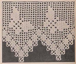 Butterfly Edging Filet Crochet Pattern Ebook Charlie Cat Patterns