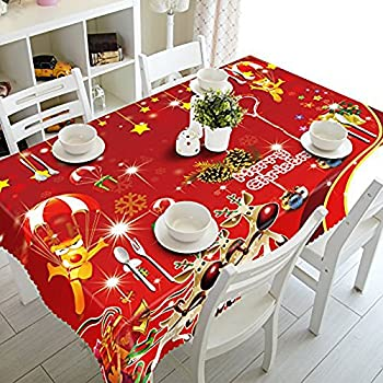 Silver Christmas Wipe Clean PVC Vinyl Tablecloth Table ...