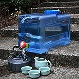 Benbroo 12L acqua secchiello Quartetto Outdoor serbatoio d' acqua auto veicolo Mineral food grade campeggio catering tavolino