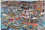 J.v. Haasteren - Verrückter Hafen, 1500 Teile
