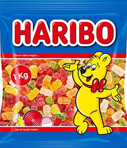Haribo 0006680 Ositos de azúcar, Paquete de 12, 1 kg/ bolsa