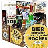 Bier kalt stellen ist auch irgendwie kochen | DDR Produkte | mit Rotkäppchen Sekt 0,2l, Erichs Rache, Bier uvm | GRATIS Aufkleber - Bier kalt stellen ist auch irgendwie kochen