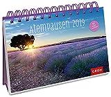 Atempausen 2019: PostkartenKalender mit separatem Wochenkalendarium