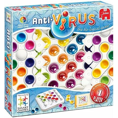 Jumbo 17538 - Smart Games Antivirus, juego de lógica para 1 jugador